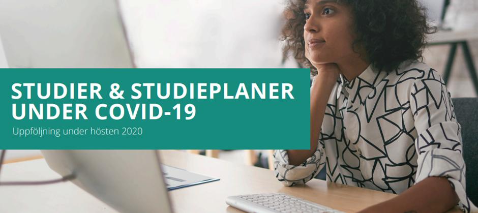 Rapport om studier och studieplaner under covid-19